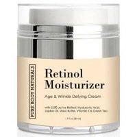 Pure Body Naturals Retinol Moisturizer Review